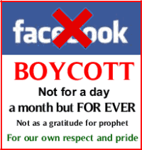 Boycott Facebook for ever
