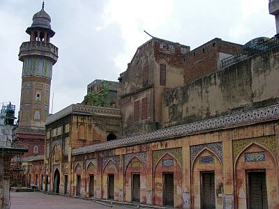Wazir Mosque in Lahore