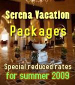 Special Vacation packages for serena hotels in Pakistan