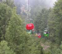 Murree Hills chair lift