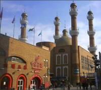 Urumqi bazaar mosque