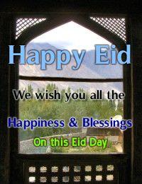 Happy Eid Ul Fitr