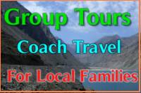 Group tour Pakistanis