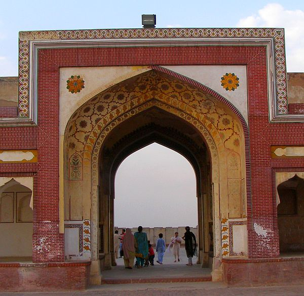 Lahore Fort Entrance to Shahjehan Shish mahal