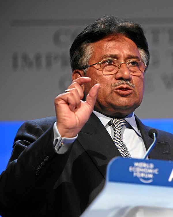 Pervez Musharraf silences Indian anchorperson over Pak-India ...