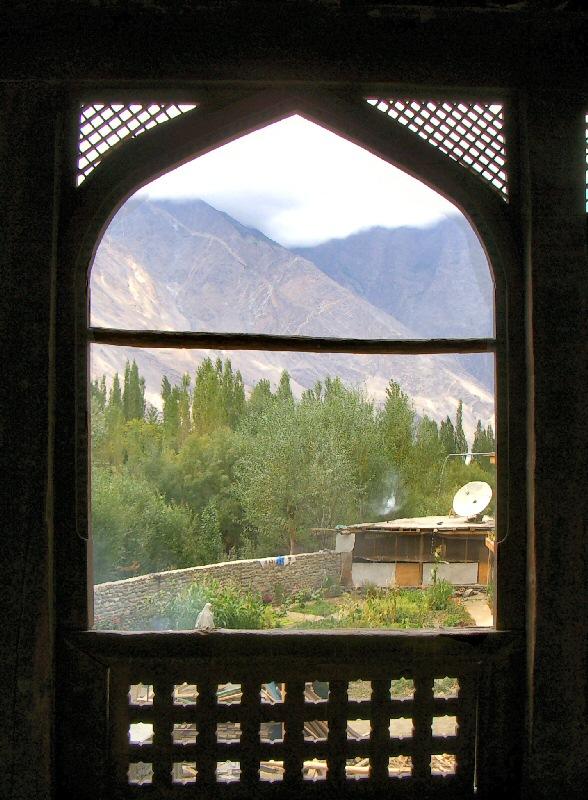 Shigar fort residence