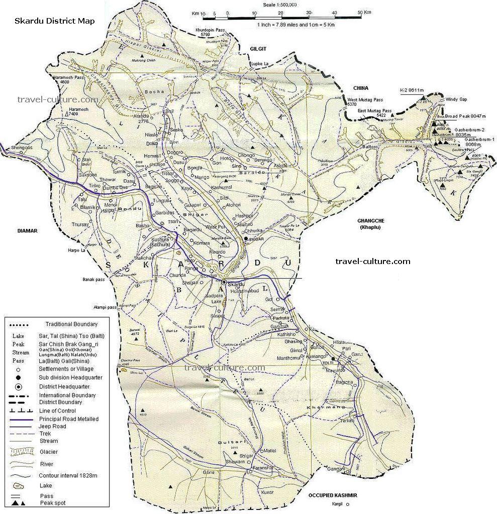 Skardu valley Baltistan pakistan