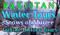 Winter 2012 Tours for Pakistanis