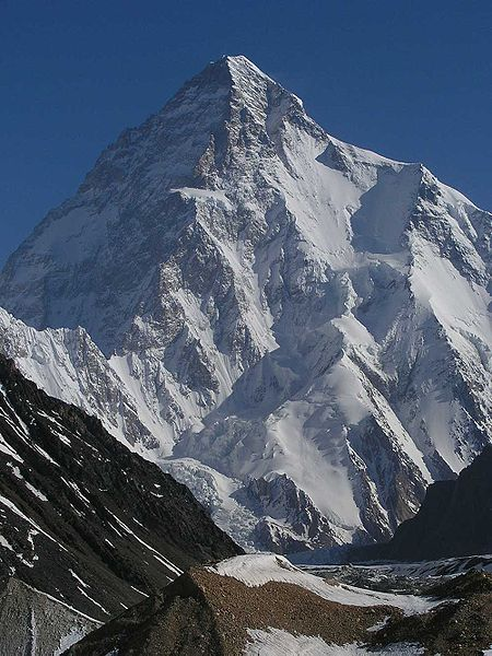 Picture of the K2 Mountain in Pakistan